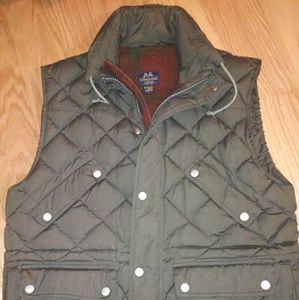 RARE!! Willis & Geiger wool lined vest. Sz XL